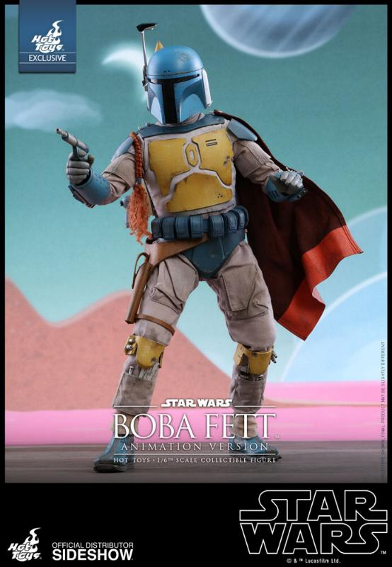 Hot Toys - Boba Fett (Animation Version) Sixth Scale Figure Boba_a13