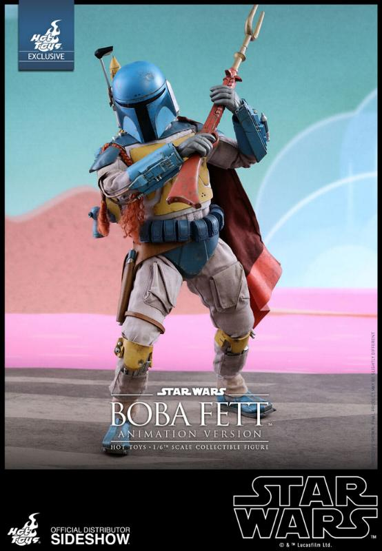 Hot Toys - Boba Fett (Animation Version) Sixth Scale Figure Boba_a14