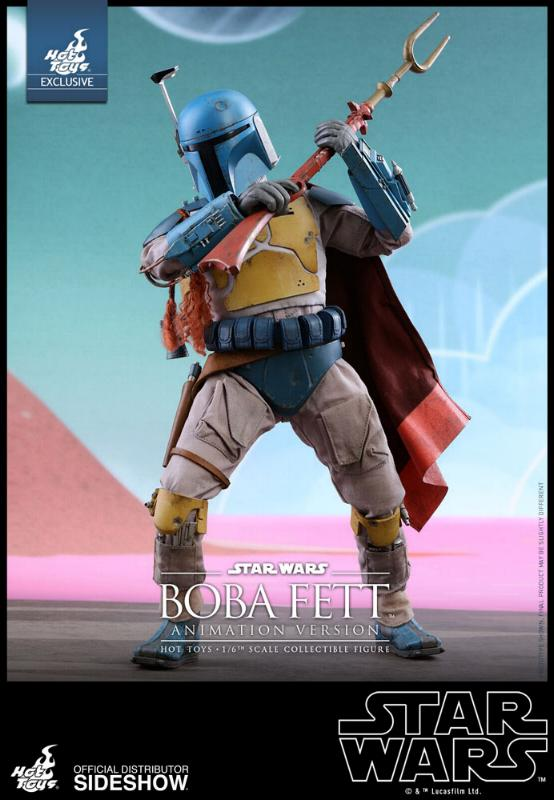 Hot Toys - Boba Fett (Animation Version) Sixth Scale Figure Boba_a15