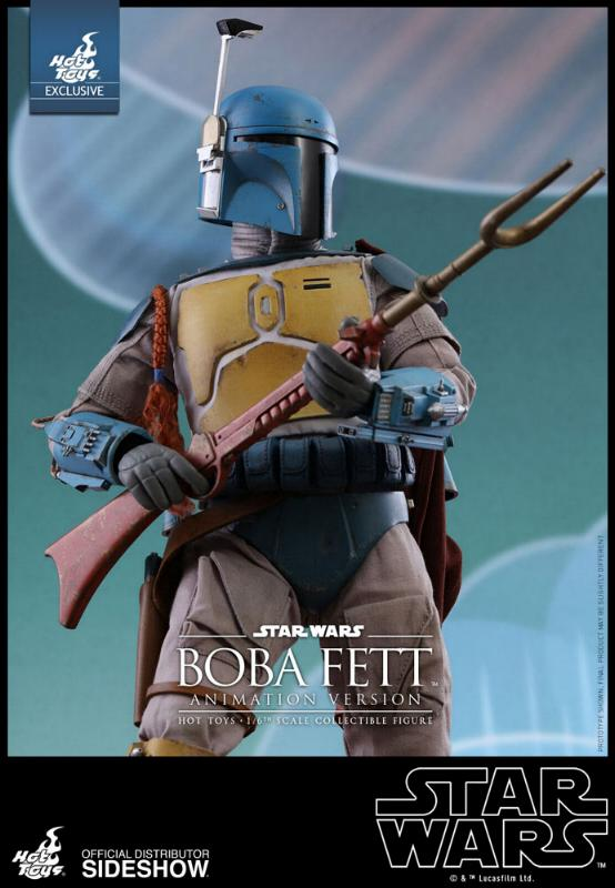 Hot Toys - Boba Fett (Animation Version) Sixth Scale Figure Boba_a16