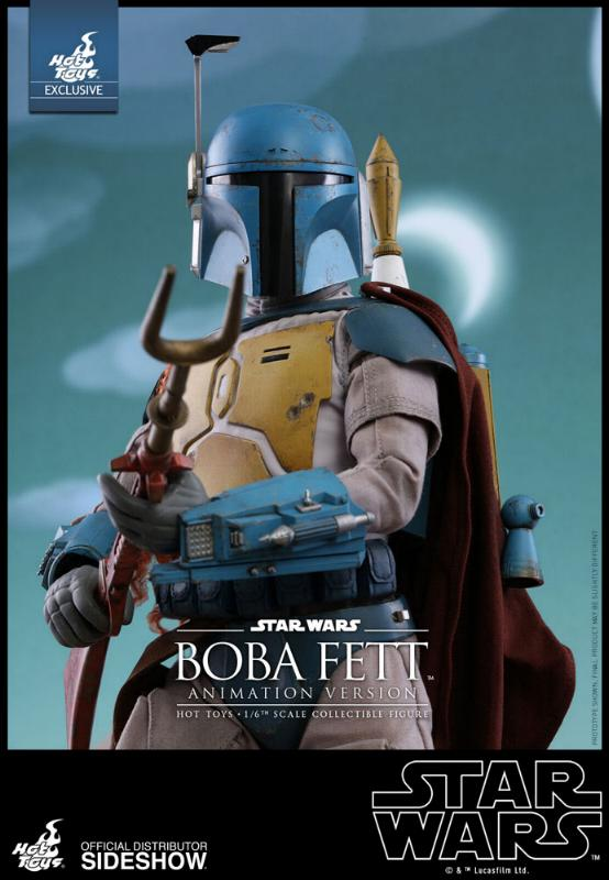 Hot Toys - Boba Fett (Animation Version) Sixth Scale Figure Boba_a17