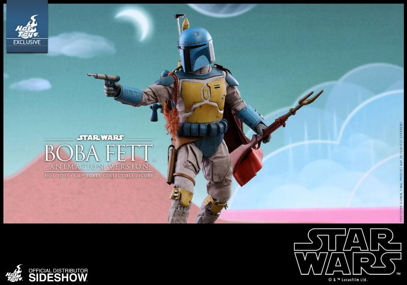 Hot Toys - Boba Fett (Animation Version) Sixth Scale Figure Boba_a18