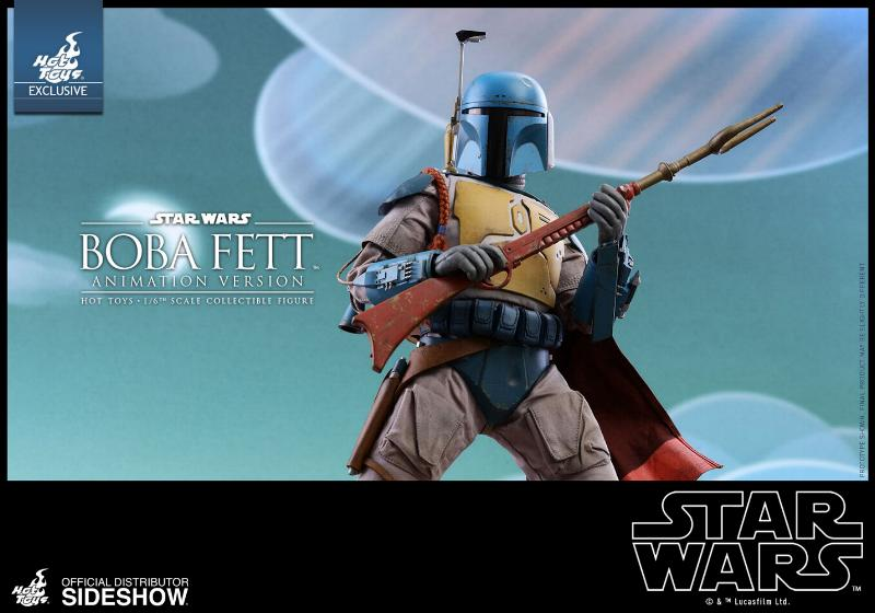 Hot Toys - Boba Fett (Animation Version) Sixth Scale Figure Boba_a19