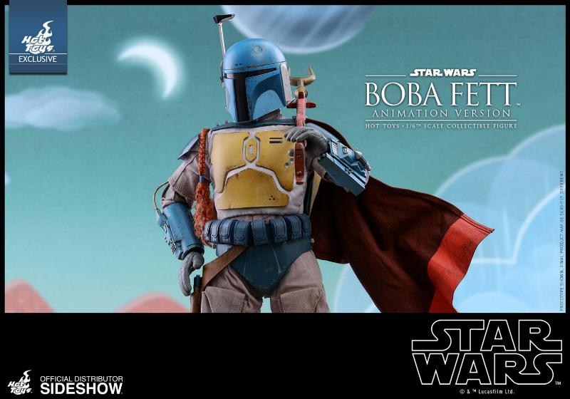 Hot Toys - Boba Fett (Animation Version) Sixth Scale Figure Boba_a20
