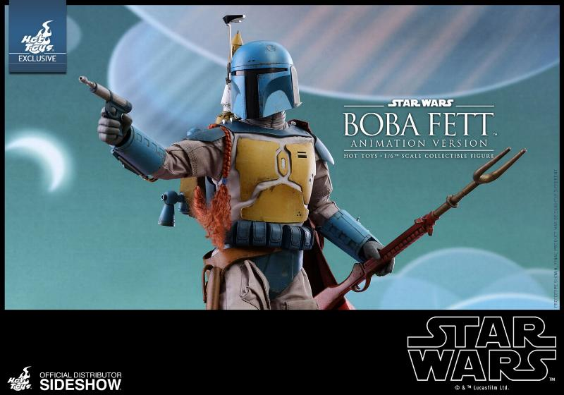 Hot Toys - Boba Fett (Animation Version) Sixth Scale Figure Boba_a21