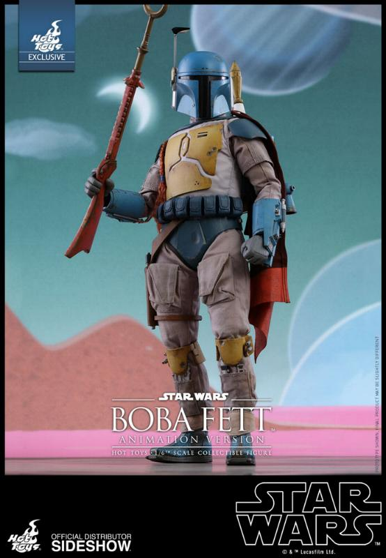 Hot Toys - Boba Fett (Animation Version) Sixth Scale Figure Boba_a22