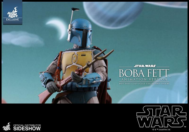 Hot Toys - Boba Fett (Animation Version) Sixth Scale Figure Boba_a23