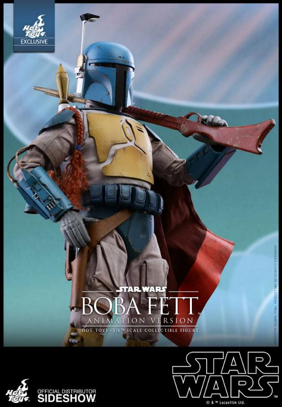Hot Toys - Boba Fett (Animation Version) Sixth Scale Figure Boba_a24