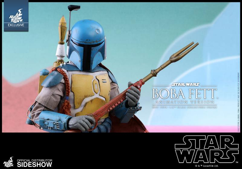 Hot Toys - Boba Fett (Animation Version) Sixth Scale Figure Boba_a25