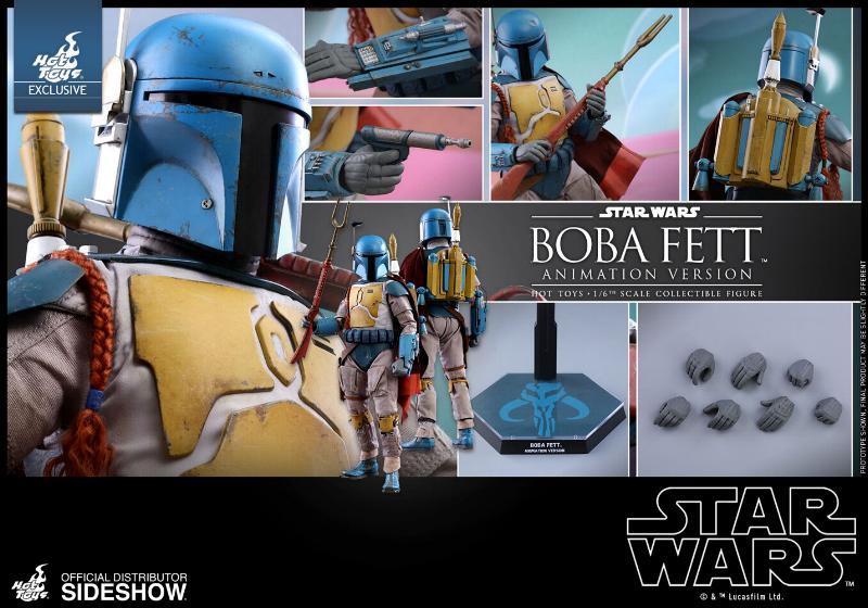 Hot Toys - Boba Fett (Animation Version) Sixth Scale Figure Boba_a26