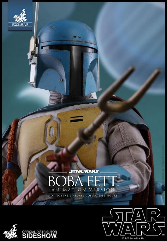 Hot Toys - Boba Fett (Animation Version) Sixth Scale Figure Boba_a27