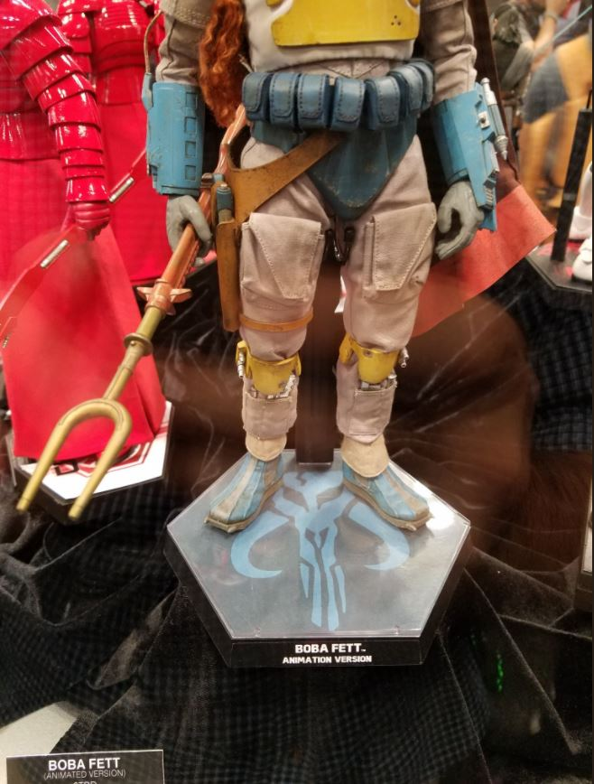 Hot Toys - Boba Fett (Animation Version) Sixth Scale Figure Boba_a28