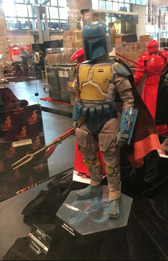 Hot Toys - Boba Fett (Animation Version) Sixth Scale Figure Boba_a30