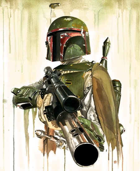 Artwork Star Wars - REPLICA Boba_f10