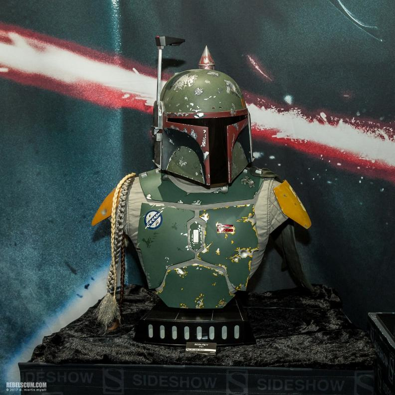 Sideshow Collectibles - Boba Fett Life-Size Bust Boba_l10