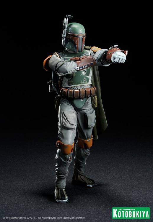 Kotobukiya - Boba Fett Return of the Jedi - ARTFX+ statue Bobaar10