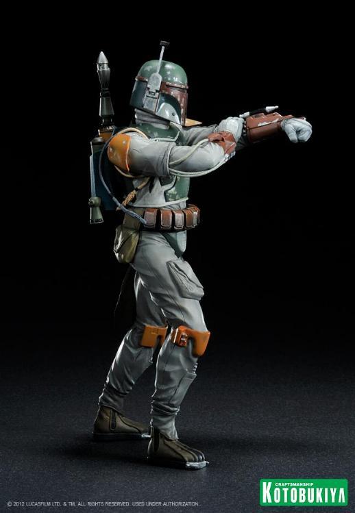 Kotobukiya - Boba Fett Return of the Jedi - ARTFX+ statue Bobaar11