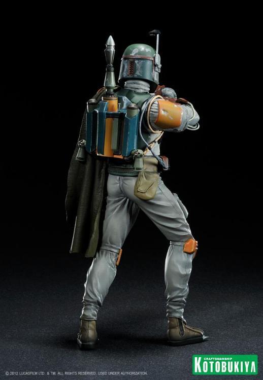 Kotobukiya - Boba Fett Return of the Jedi - ARTFX+ statue Bobaar12