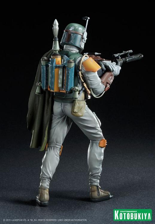 Kotobukiya - Boba Fett Return of the Jedi - ARTFX+ statue Bobaar14