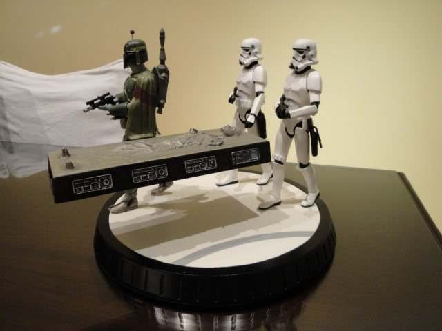 Gentle Giant - Boba fett stormtrooper and han solo carbonite Bobba_14