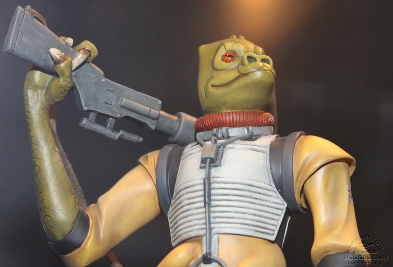 Gentle Giant - BOSSK - Animated Maquette Bossk012
