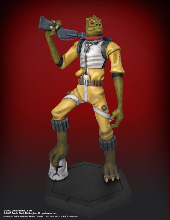 Gentle Giant - BOSSK - Animated Maquette Bossk013