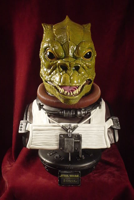Sideshow Collectibles - Bossk Life Size  Bust Bossk020
