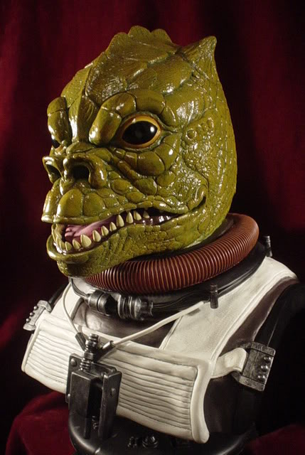 Sideshow Collectibles - Bossk Life Size  Bust Bossk022