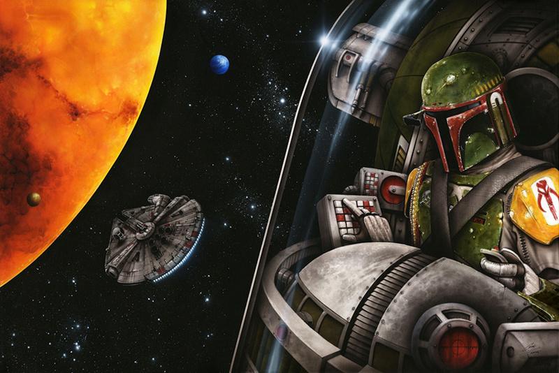 Artwork Star Wars - ACME - Bounty on Bespin Bounty10