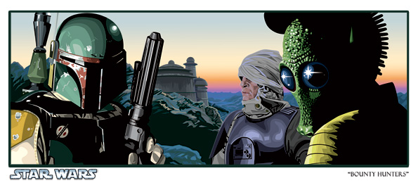 Artwork Star Wars - ACME - Bounty Hunters Bounty11