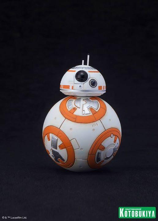 Kotobukiya Star Wars - C3PO,R2D2,BB8 ARTFX+ Statue C3po-r11
