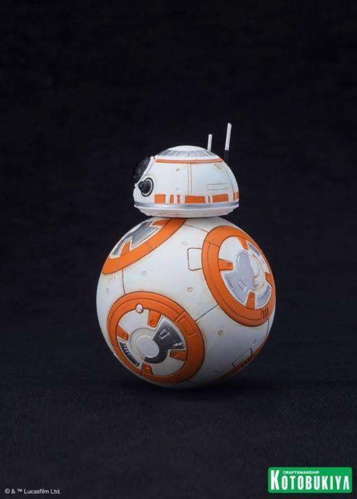 Kotobukiya Star Wars - C3PO,R2D2,BB8 ARTFX+ Statue C3po-r12