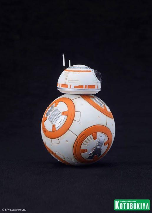 Kotobukiya Star Wars - C3PO,R2D2,BB8 ARTFX+ Statue C3po-r13