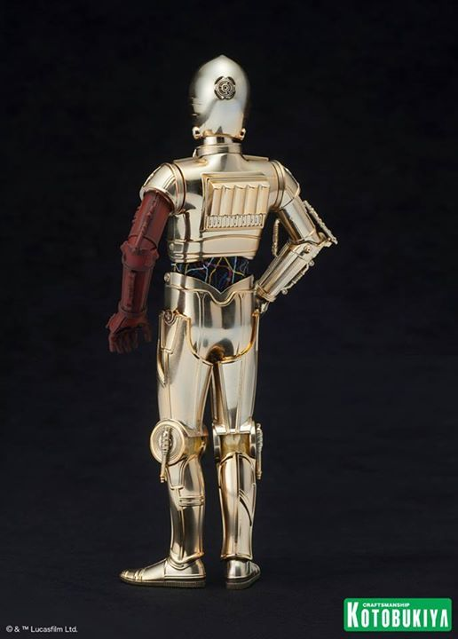 Kotobukiya Star Wars - C3PO,R2D2,BB8 ARTFX+ Statue C3po-r17