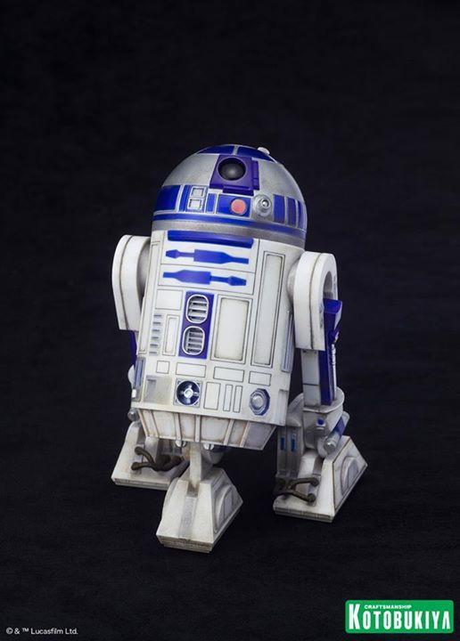 Kotobukiya Star Wars - C3PO,R2D2,BB8 ARTFX+ Statue C3po-r19