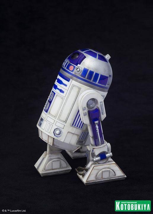 Kotobukiya Star Wars - C3PO,R2D2,BB8 ARTFX+ Statue C3po-r20