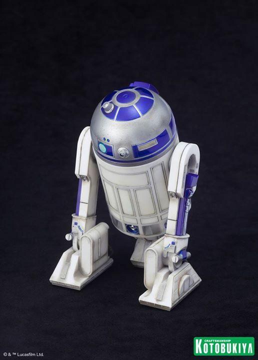 Kotobukiya Star Wars - C3PO,R2D2,BB8 ARTFX+ Statue C3po-r22
