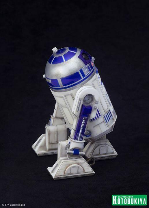 Kotobukiya Star Wars - C3PO,R2D2,BB8 ARTFX+ Statue C3po-r23