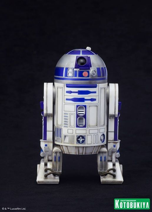 Kotobukiya Star Wars - C3PO,R2D2,BB8 ARTFX+ Statue C3po-r24