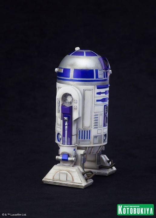 Kotobukiya Star Wars - C3PO,R2D2,BB8 ARTFX+ Statue C3po-r27