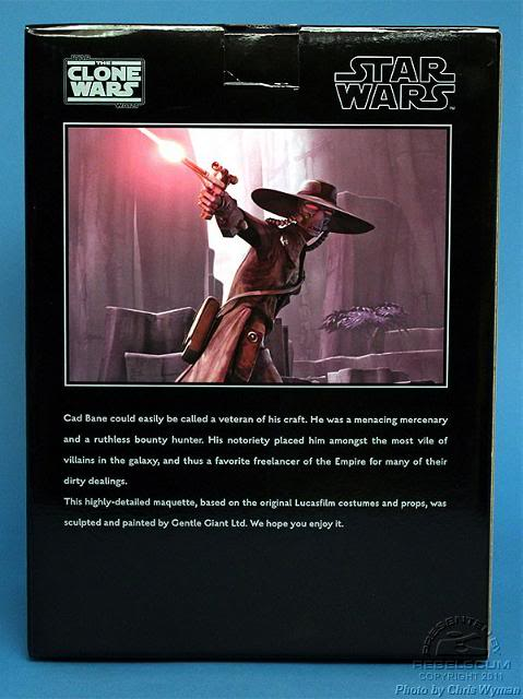 Gentle Giant - CAD BANE - Animated Maquette Cad0210