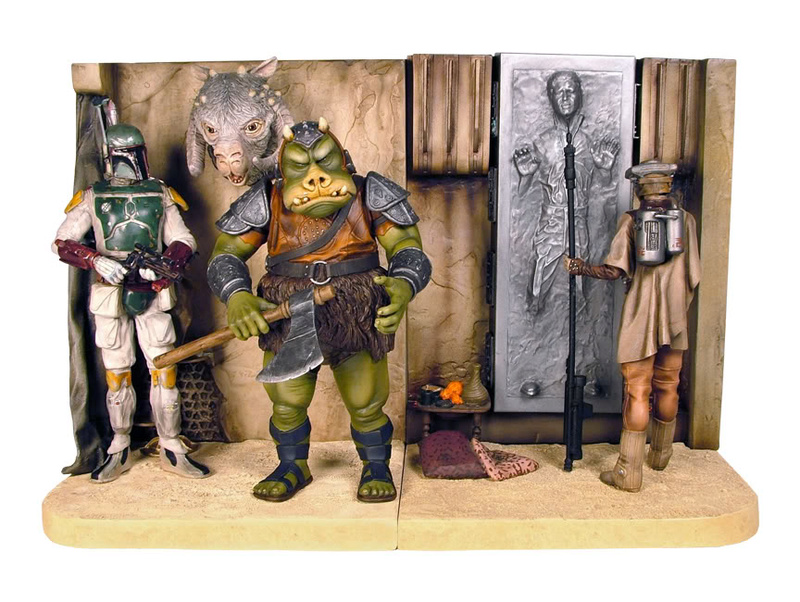 Gentle Giant - Bookends Jabba Palace ROTJ  Cantin11
