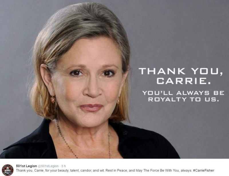 Hommages à Carrie Fisher 1956 - 2016 Carrie21