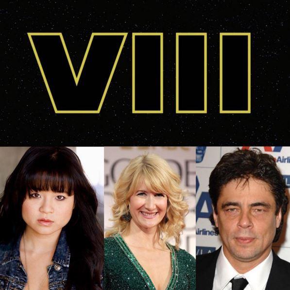 8 - Les NEWS Star Wars Episode VIII - The Last Jedi - Page 4 Castin10