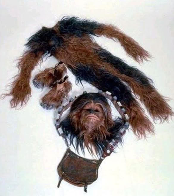 Star Wars - Vintage - Photos d'époque. Chewie12