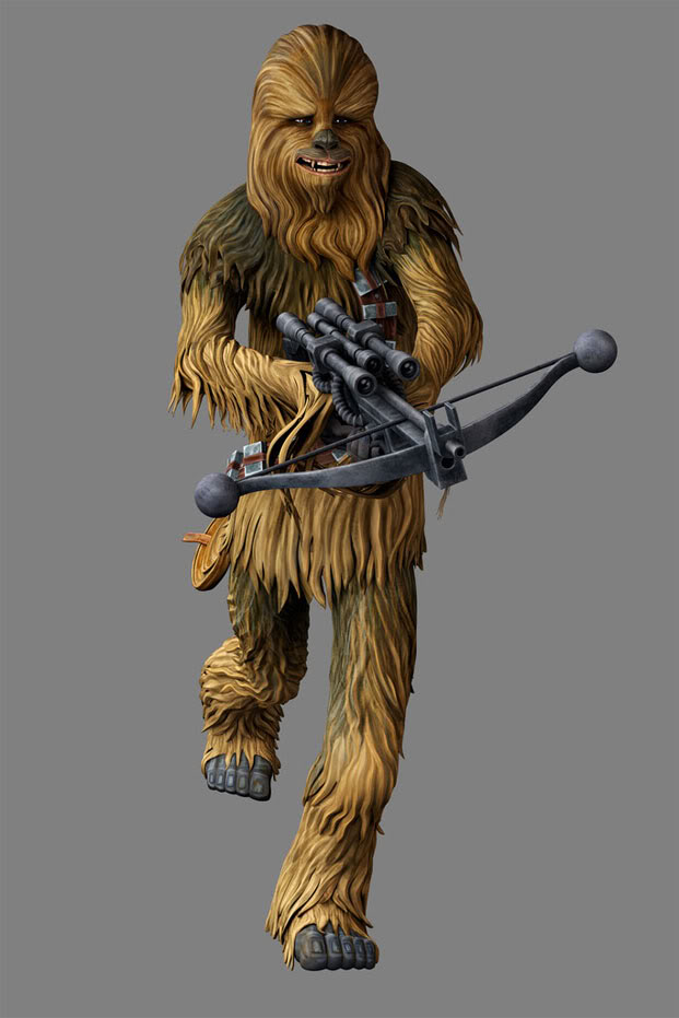 STAR WARS - THE CLONE WARS - NEWS - NOUVELLE SAISON - DVD - Page 29 Chewie13