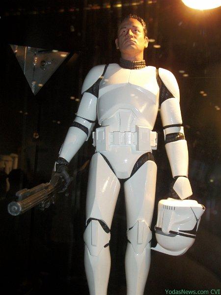 GG - White Clone Trooper AOTC Deluxe Statue Clone010