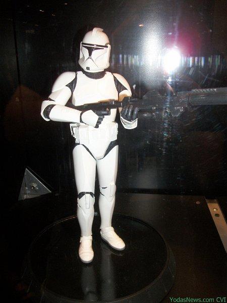 GG - White Clone Trooper AOTC Deluxe Statue Clone012