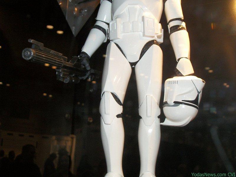 GG - White Clone Trooper AOTC Deluxe Statue Clone013