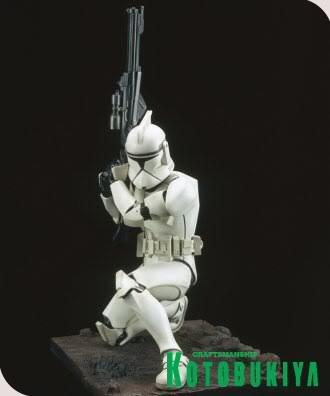 Kotobukiya - Clone Trooper ARTFX Statue Clone_34